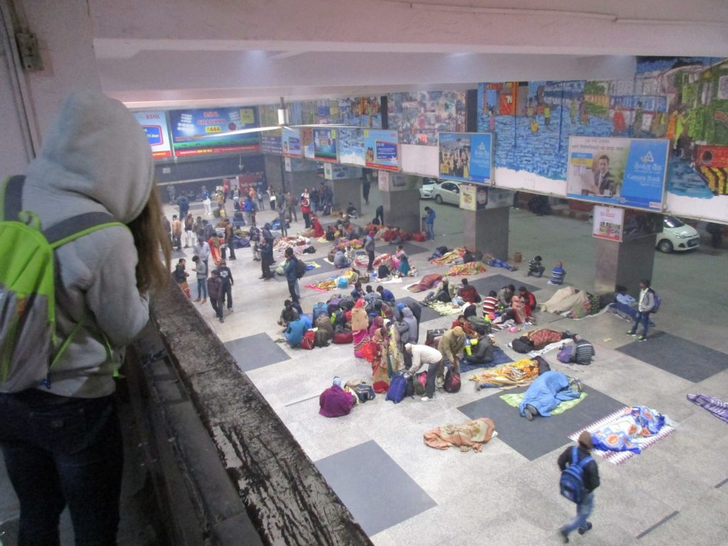 вокзал Дели Delhi Railway Station